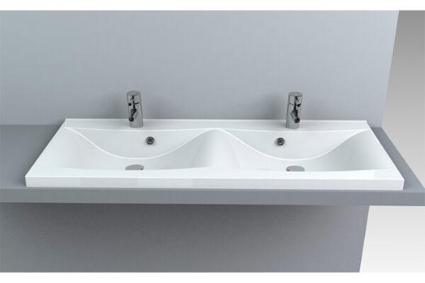 Dvojni umivalnik Santa 1200