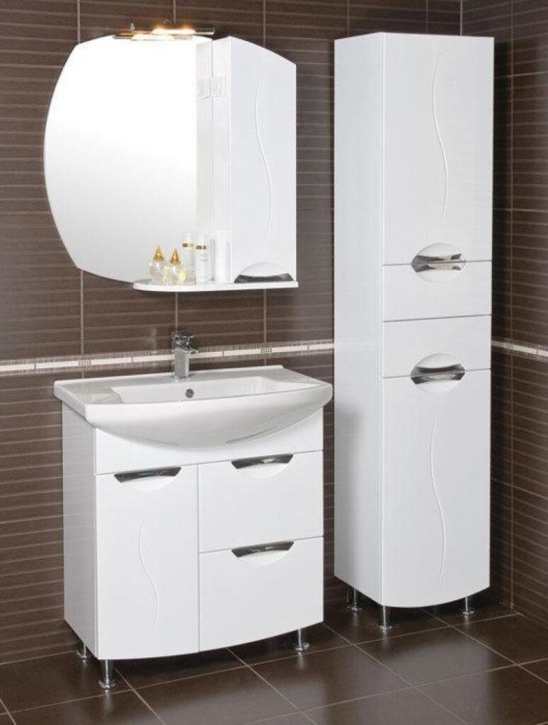 Moderno ogledalo z omarico Gloria 75