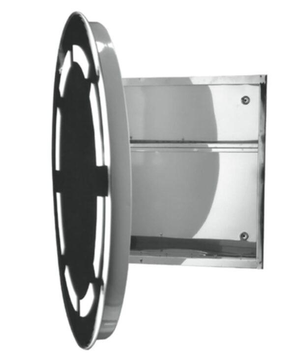 Okroglo ogledalo za kopalnico Karag 63 LED