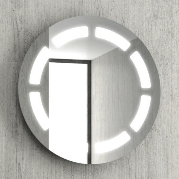 Okroglo ogledalo za kopalnico Karag 63LED