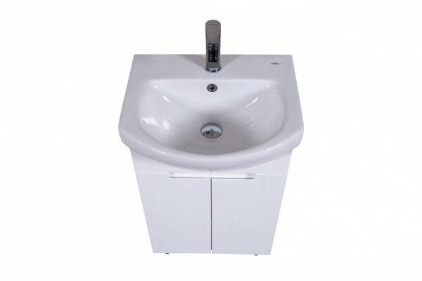 Omarica z umivalnikom Quadro 50 talna
