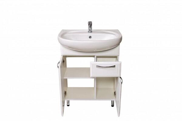 Talna kopalniška omarica z umivalnikom Dekor 65