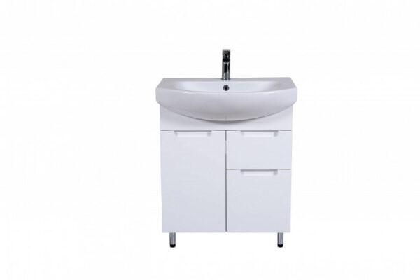 Talna kopalniška omarica z umivalnikom Quadro 70