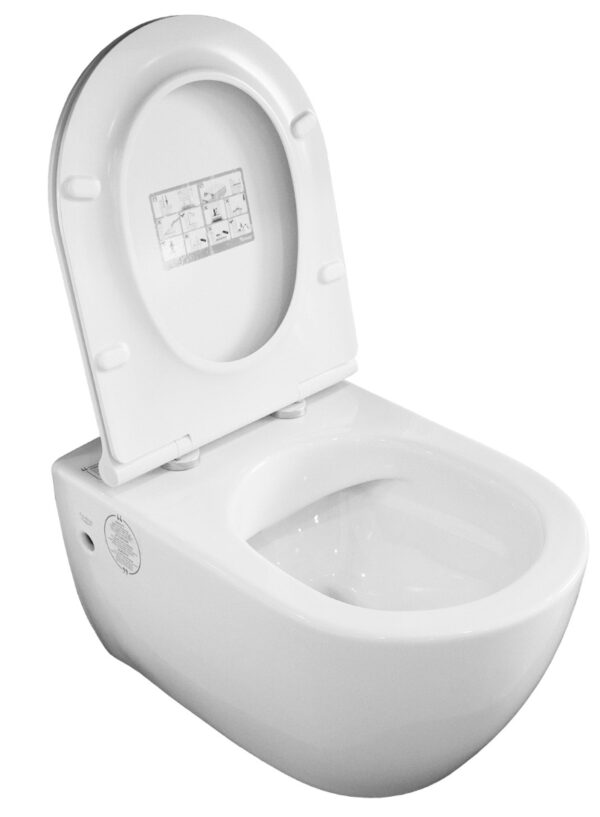 Viseča keramična WC školjka City