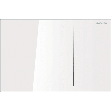 Aktivirna tipka Geberit Sigma70, za dvokoličinsko splakovanje, za podometni splakovalnik Sigma 12 cm, belo steklo