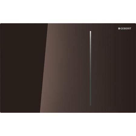 Aktivirna tipka Geberit Sigma70, za dvokoličinsko splakovanje, za podometni splakovalnik Sigma 12 cm, umbra steklo