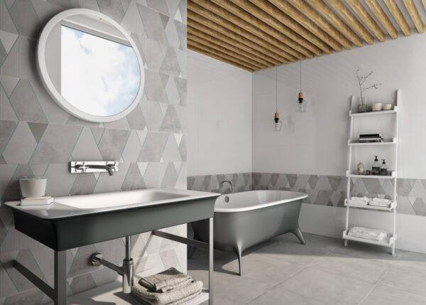 Dekorativna keramična ploščica Potenza Parole White 400x1200