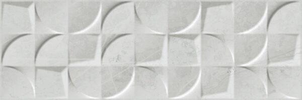 Dekorativna stenska keramična ploščica Altamura Silver 300x900