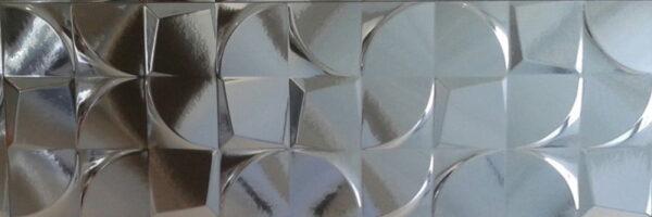 Dekorativna stenska ploščica Creazzo Argent 300x900
