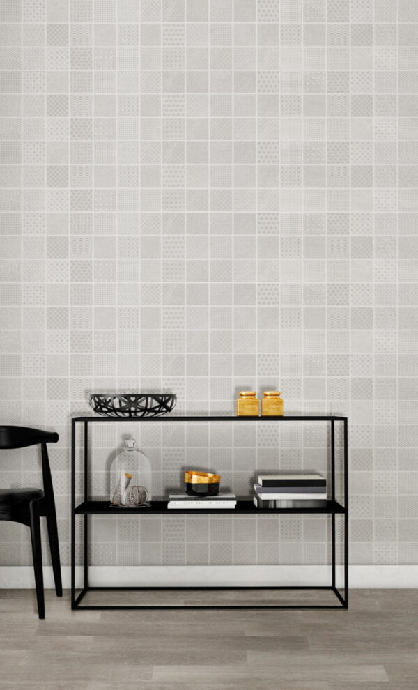 Dekorativna stenska keramična ploščica Carpi Mix Pearl 250x500