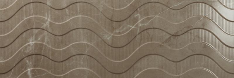 Dekorativna stenska keramična ploščica Crotone Umber 300x900