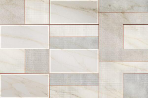 Dekorativna stenska keramična ploščica Incontro Gold 400x1200