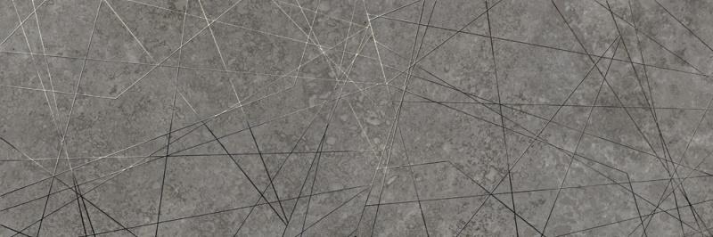 Dekorativna stenska keramična ploščica Matera Gray 300x900