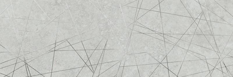 Dekorativna stenska keramična ploščica Matera Silver 300x900