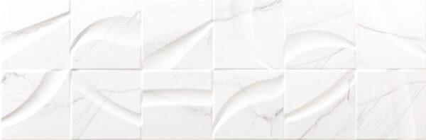 Dekorativna stenska keramična ploščica Nantes White 300x900
