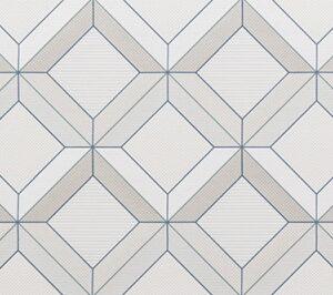 Dekorativna stenska keramična ploščica Quabbella Royalblue 300x900