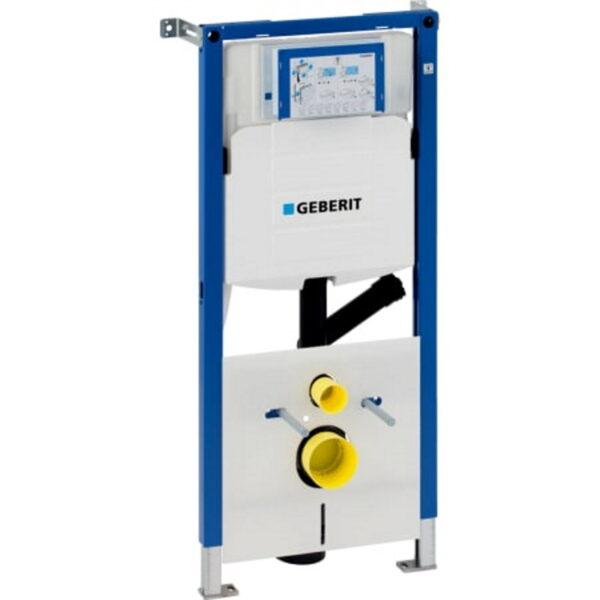 Element Geberit Duofix za stensko WC školjko, 112 cm, s podometnim splakovalnikom Sigma 12 cm, za odzračevanja neprijetnih vonjav na zunanje odzračevanje
