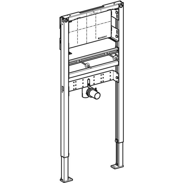 Element Geberit Duofix za umivalnik, 112–130 cm, podometna stenska armatura
