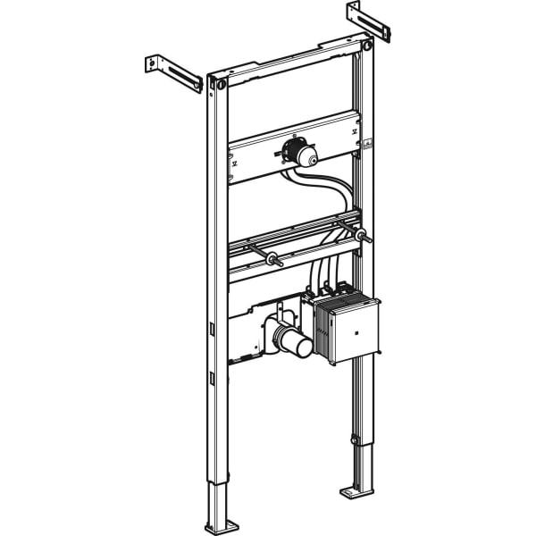 Element Geberit Duofix za umivalnik 130 cm elektronska stenska armatura s podometno funkcijsko skatlo 1