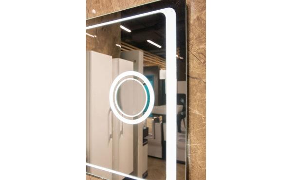 Kopalniško ogledalo Omega 100 LUX s povečevalnim steklom