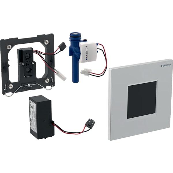 Krmiljenje Geberit za pisoarje z elektronskim aktiviranjem splakovanja omrezno delovanje pokrivna plosca Tip30