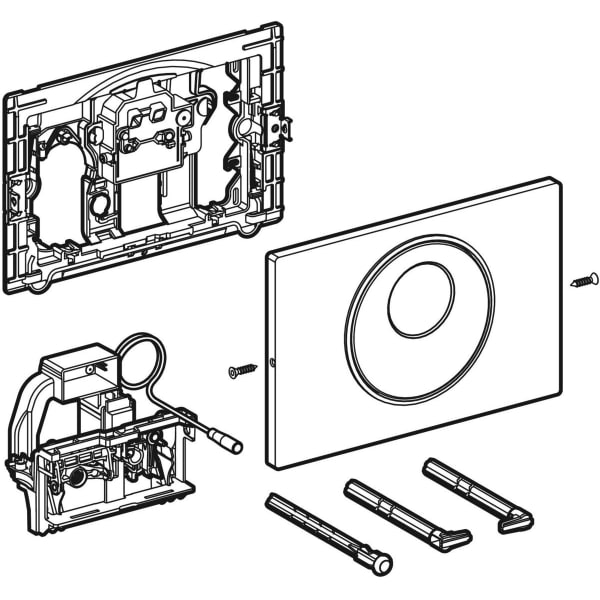 Krmiljenje WC ja z elektronskim aktiviranjem splakovanja Geberit omrezno delovanje dvokolicinsko splakovanje aktivirna tipka Sigma10 samodejno brez dotika rocno 1
