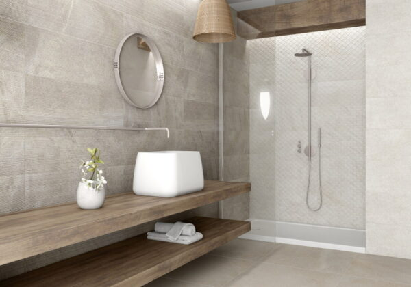 Stenska keramična ploščica Cavallino White 300x900