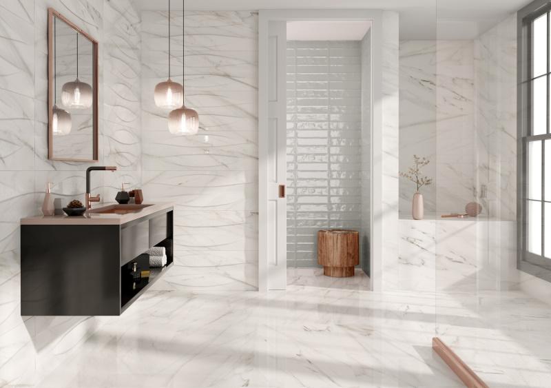 Stenska keramična ploščica Dozza White 400x1200