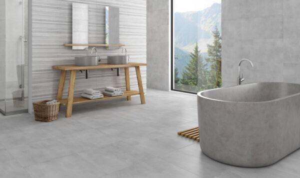 Stenska keramična ploščica Potenza Silver 400x1200