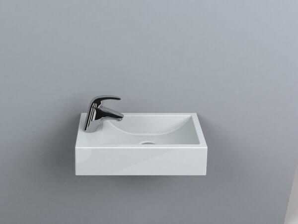 Umivalnik za WC Faro desni