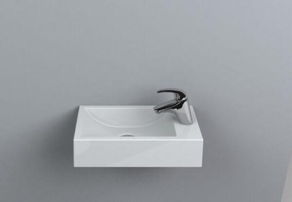 Umivalnik za WC Faro levi