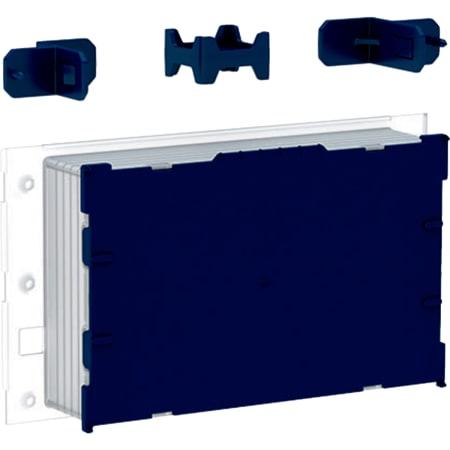 Vgradni set Geberit, površinsko izravnan, za podometni splakovalnik Sigma, 12 cm