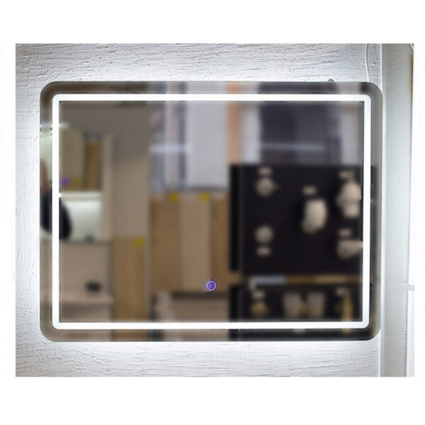 Kopalnisko ogledalo Beata 80 S LED