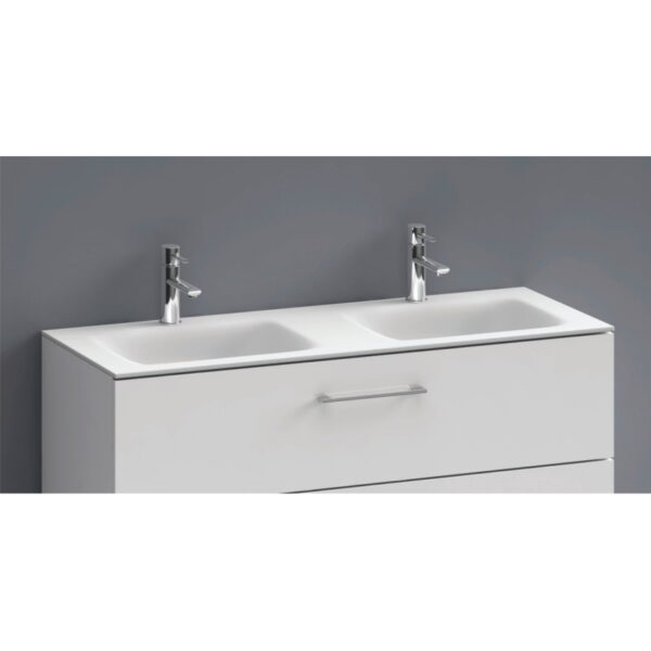 Nadpultni kopalniski umivalnik Eloise 120 dvojni