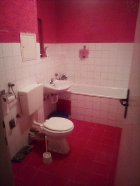 Obnova kopalnice na ključ - stara