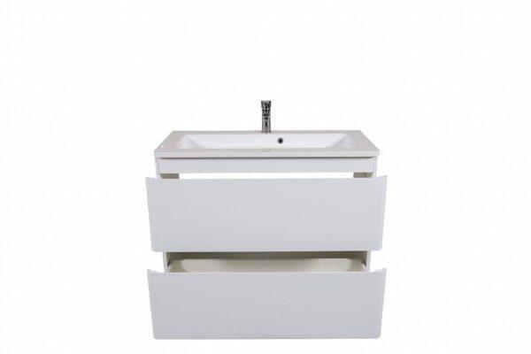 Omarica z umivalnikom Akcent 100 bela talna 4