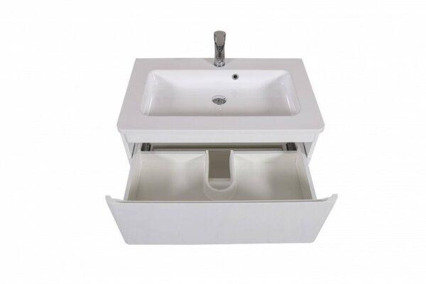 Omarica z umivalnikom Akcent 80 bela talna 2