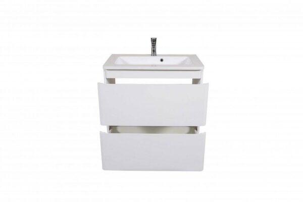 Omarica z umivalnikom Akcent 80 bela talna 3