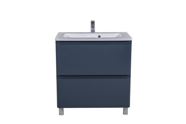 Omarica z umivalnikom Akcent 80 modra mat talna 3 scaled