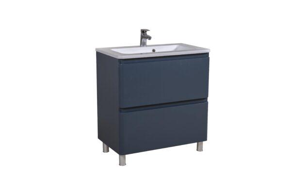 Omarica z umivalnikom Akcent 80 modra mat talna 4 scaled