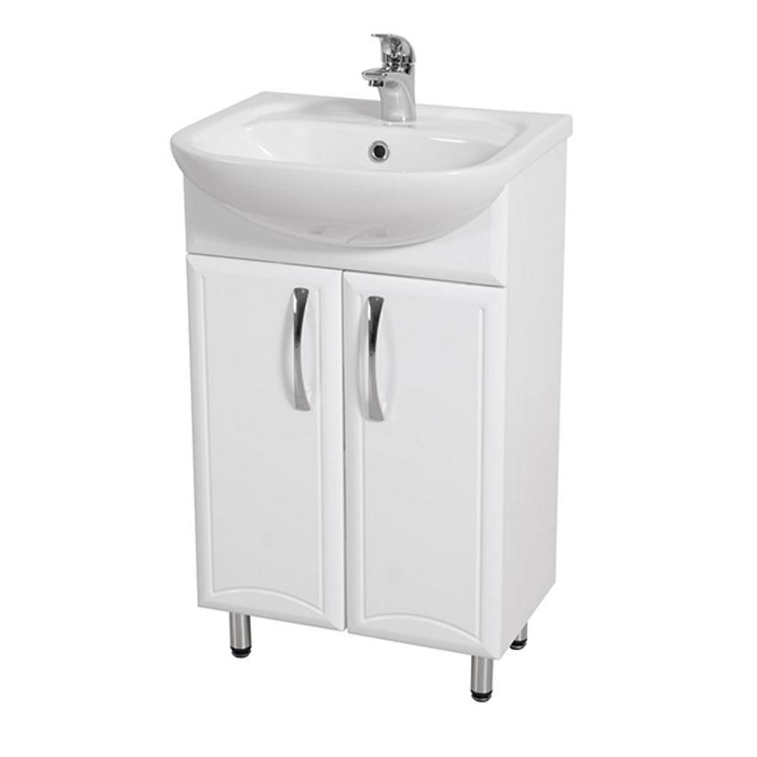 Kopalniške omarice z umivalnikom