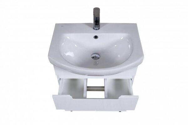 Omarica z umivalnikom Quadro 60 talna 2