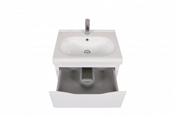 Omarica z umivalnikom Venice 60 bela stenska 3