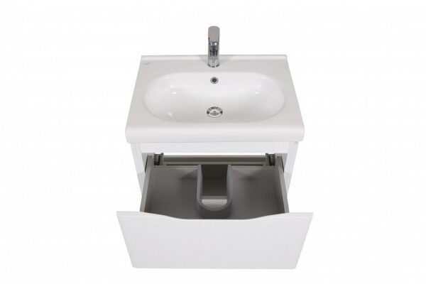 Omarica z umivalnikom Venice 60 bela talna 4