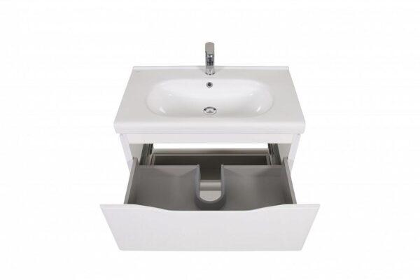 Omarica z umivalnikom Venice 80 bela talna 3