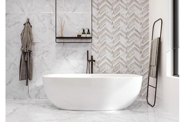 Stenska keramicna ploscica Marmo Bianco 300x600 2