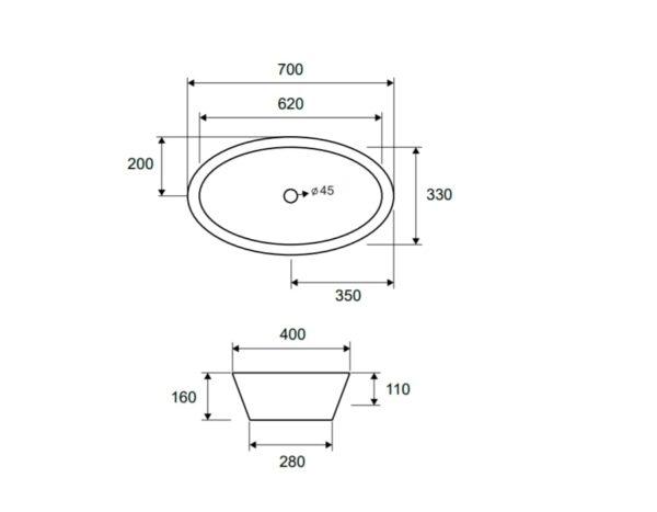 Umivalnik LT 3043 1