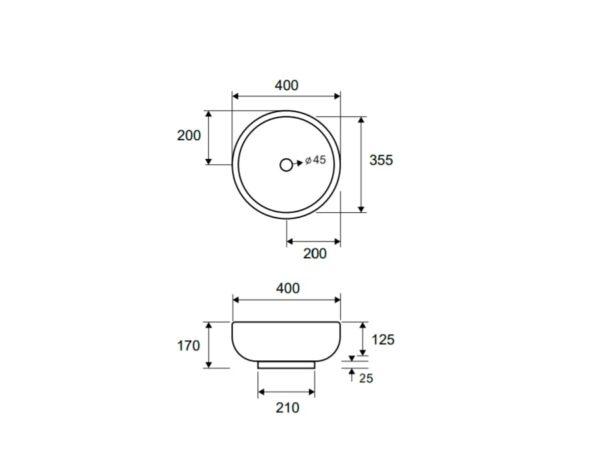 Umivalnik LT 3065 1