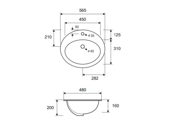 Umivalnik LT 6002 1