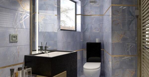 Vecnamenska keramicna ploscica Onyx Modra 300x600 2